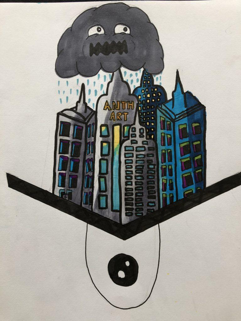 Rain Over Monster City